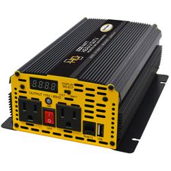 Go Power - Modified Sine Wave Inverter - 1000 Watts - 12V