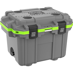 Pelican ProGear Elite Cooler - 30QT - Dark Gray/Green