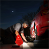 LED - Striker FLEXIT Auto Flashlight, 180 Lumens