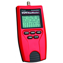 VDV MapMaster - Voice, Data, and Video Tester