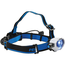 Pelican LED Headlamp USB Rechargeable w/ 3 covers