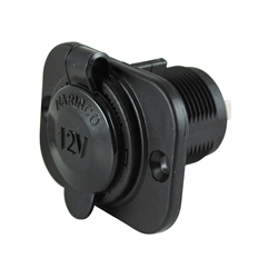 Marinco - 12V Receptacle w/ Sealing Cap
