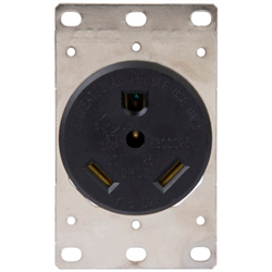 Receptacle, Dead Front, 30A RV Power