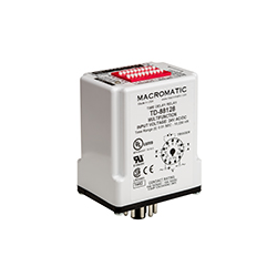 Macromatic - Time Delay Relay; Plug-in; Multi-Function; 120VAC/DC; 10A SPDT
