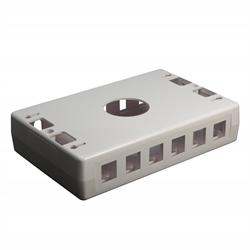 Keystone - 6 Port Surface Box