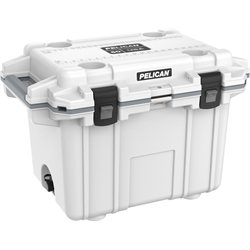 Pelican ProGear Elite Cooler - 50QT - White/Gray