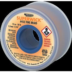 Solder Wick Fine Braid - 1.5 mm - 15 Meters - YELLOW