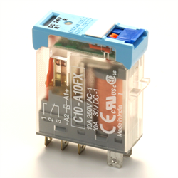 Releco Relay 1PDT w/ Polarity and Diode