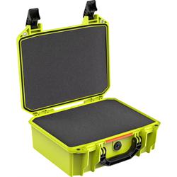 Pelican Vault Case ( Bright Green ) w/Foam