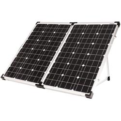Go Power - 130 Watts / Portable Solar Kit w/ 10 Amp Controller