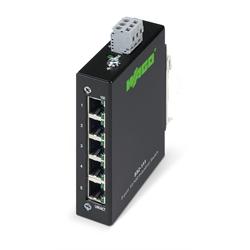 WAGO - Ethernet Switch 5 Port 10/100 Din Rail 18-30 vdc