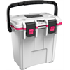 Pelican ProGear Elite Cooler - 20QT - White/Hot Pink