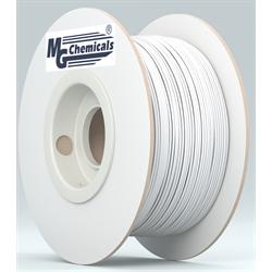 3D PREMIUM FILAMENT ABS, 1.75 mm, 1 KG SPOOL - WHITE