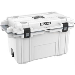 Pelican ProGear Elite Cooler - 70QT - White/Grey