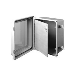 SPECIAL - Aluminum Swing Panel for PJ Series Raised Lid Enclosures