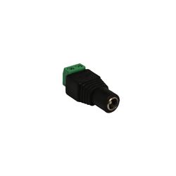 DC Jack - 2.1 x 5.5mm Pin Jack w/ Solderless Terminal