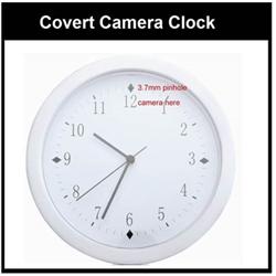 SPECIAL - Clock - Pinhole Camera 420TVL, 3.7mm Lens - Reg. $129.99