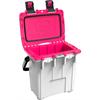 Pelican ProGear Elite Cooler - 20QT - White/Hot Pink