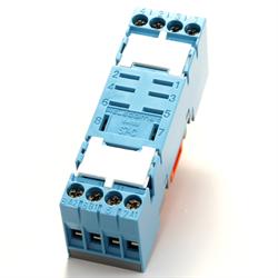 Releco - 8-Blade DIN/Panel Mount Socket