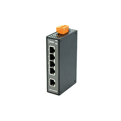 idec -  5 Port Ethernet Switch 10/100Mbps, Din Rail Mount