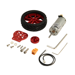 OSEPP DC Motor with Rim Set Kit