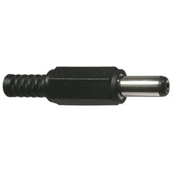 DC POWER PLUG - 2.1mm Long - PKG/2