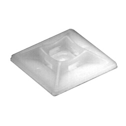 """1"""" x 1"""" Adhesive Mount - Clear 100pkg"""
