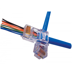 EZ-RJ45 Connectors Cat5e / EACH