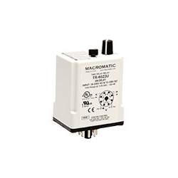 Macromatic - Time Delay Relay; Plug-in; On Delay; 24-240VAC/12-125VDC; 10A DPDT;