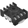 Macromatic - 8 Pin Octal Socket; 600V; Panel & DIN-Rail Mounting