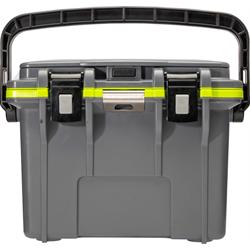 Pelican ProGear Elite Cooler - 14QT - Dark Gray/Green
