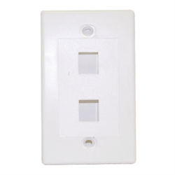 Keystone - Double Outlet Wall Plate