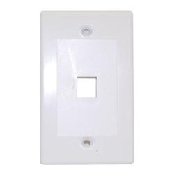 Keystone - Single Outlet Wall Plate