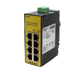 TURCK - (id#U3-10866) 8 Port Industrial Ethernet Switch, Unmanaged
