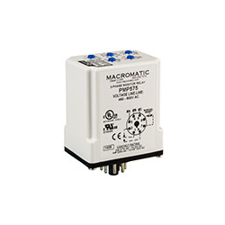 Macromatic - Three Phase Monitor Relay; Plug-in; 460-600V; 10A SPDT