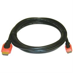HDMI C (Mini) Plug to HDMI A (Standard) Plug, 3m
