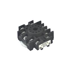 Macromatic - 11 Pin Octal Socket; 300V; Panel & DIN-Rail Mounting