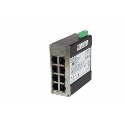 Red Lion 8 Port Ethernet Switch 10-32 vdc Din Rail Mount