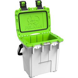 Pelican ProGear Elite Cooler - 20QT - White/Electric Green