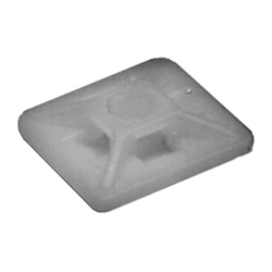 "3/4"" x 3/4"" Adhesive Mount - Clear 25pkg"
