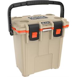 Pelican ProGear Elite Cooler - 20QT - Tan/Orange