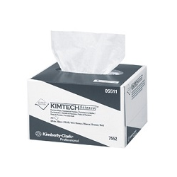 KIMTECH Precision Wipes, for Fiber Optic Cleaning, 280/Box